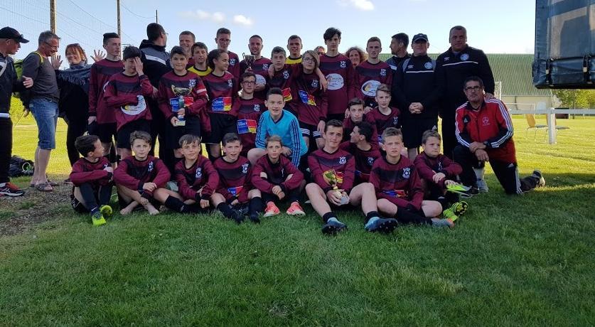 10/05 Les U13, U15 et U19 en déplacement au tournoi de Lyre (27).