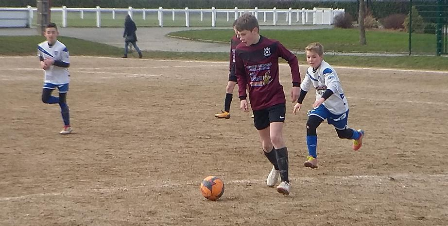 02/02 : Match des U13B